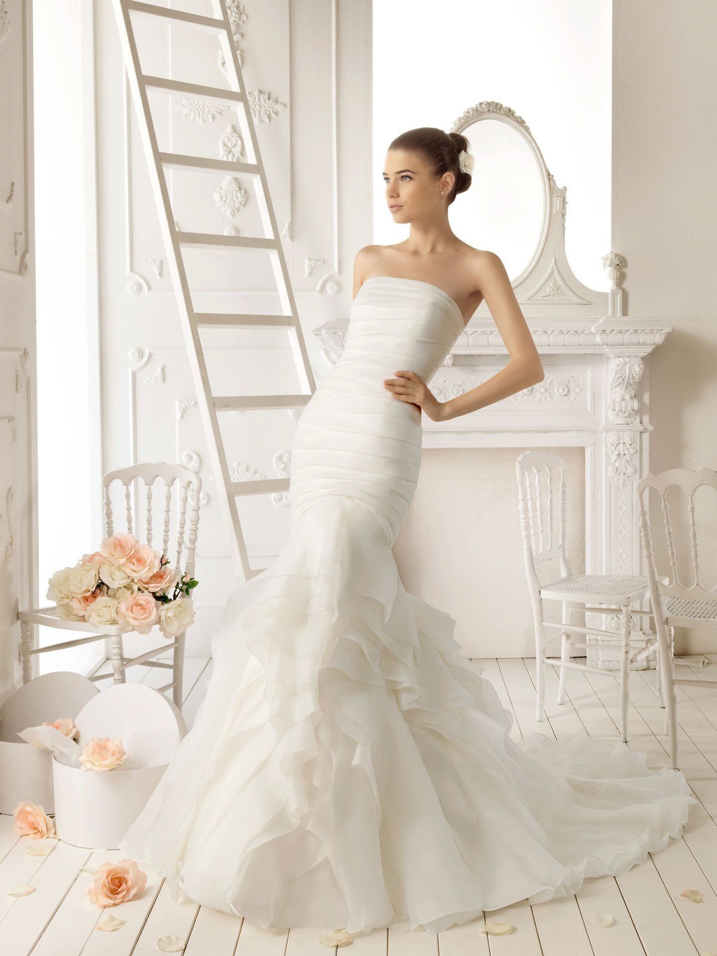 Mermaid Wedding Dresses 2013