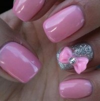 24 Beautiful Nails with bows