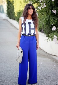 15 Trendy Street Style Outfits With Palazzo Pants