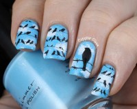 15 Lovely Nail Designs With Birds For This Fall