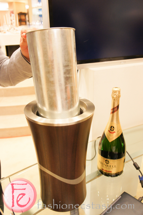 Arcadia Vase or Champagne cooler- Royal Selangor Arcadia Collection Launch at William Ashley