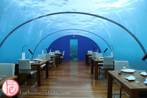 Review Conrad Maldives 39 Iconic Ithaa Undersea Restaurant