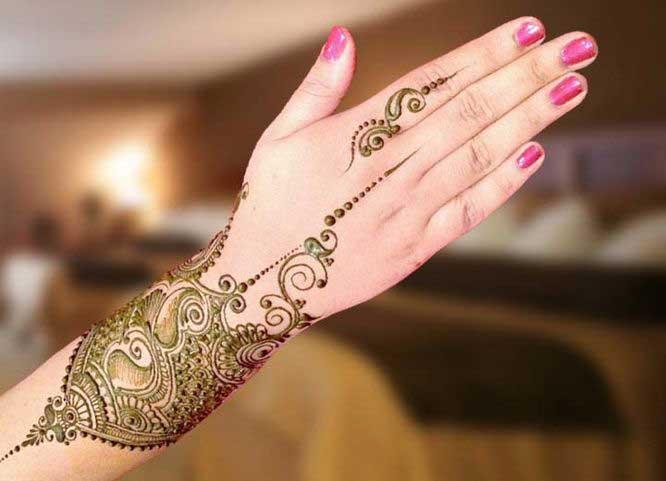 Simple Pakistani Mehndi Designs For Eid 2018 Fashioneven