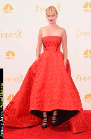 Emmy Awards 2014 Looks January Jones