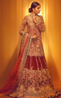 100+ Pakistani Bridal Dresses 2018 for Wedding Parties (3