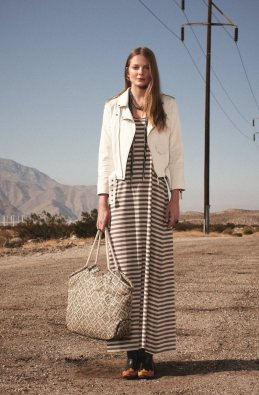 Eniko Mihalik & Valerija Kelava for Club Monaco Spring/Summer 2012 Collection