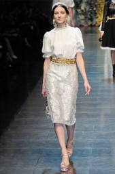 Dolce & Gabbana Fall 2012 | Milan Fashion Week