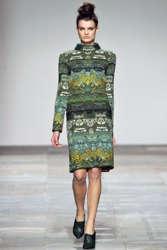 Mary Katrantzou Fall 2012 | London Fashion Week