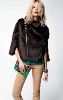 Magdalena Frackowiak & Toni Garrn for Juicy Couture Fall 2012 Lookbook