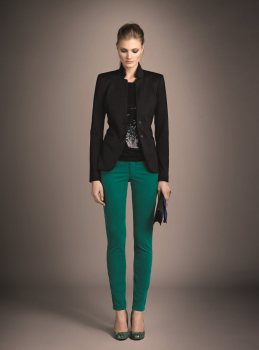 Constance Jablonski Models Ouis Fall 2012 Collection
