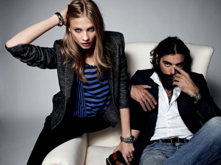 Anna Selezneva Sports Boyish Looks for Sets Fall/Winter 2012 Collection