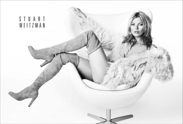 Kate Moss za Stuart Weitzmann