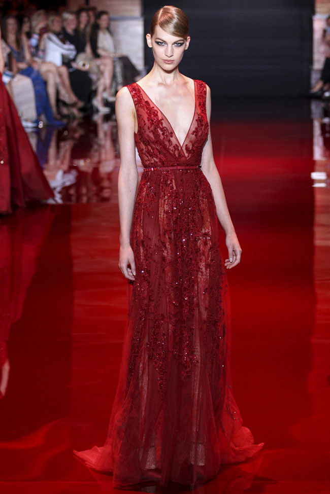 elie saab fall haute couture collection