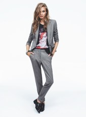 Mango Taps Anna Selezneva for Fall 2013 Catalogue