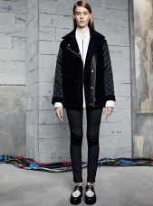 Ondria Hardin Tapped for Sandro Fall/Winter 2013 Lookbook