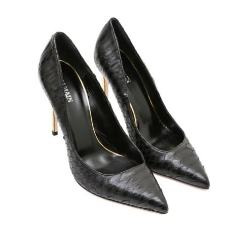 Shoe Spotting: Balmains Spring 2014 Footwear Line