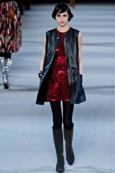 Saint Laurent Fall/Winter 2014 | Paris Fashion Week