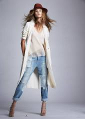 Behati Prinsloo Designs Denim Line with THVM Collaboration