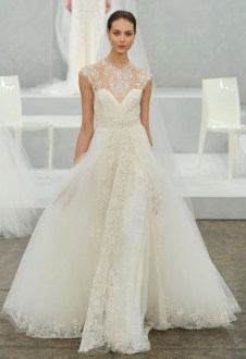 Monique Lhuillier's Bridal 2015 Collection is a Wedding Fantasy