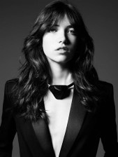 Grace Hartzel Rocks the Saint Laurent Pre Fall 2014 Lookbook