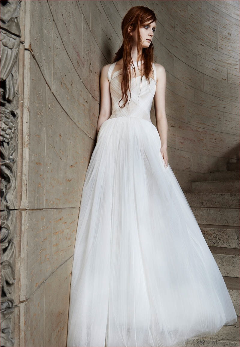 Vera wang bridal spring 2015 wedding dresses for Where to buy vera wang wedding dresses