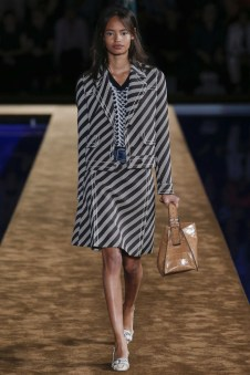 Prada Takes on Denim, Menswear Style for Resort 2015