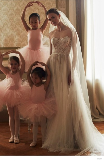 BHLDN Ballet-Inspired Wedding Dresses for Fall