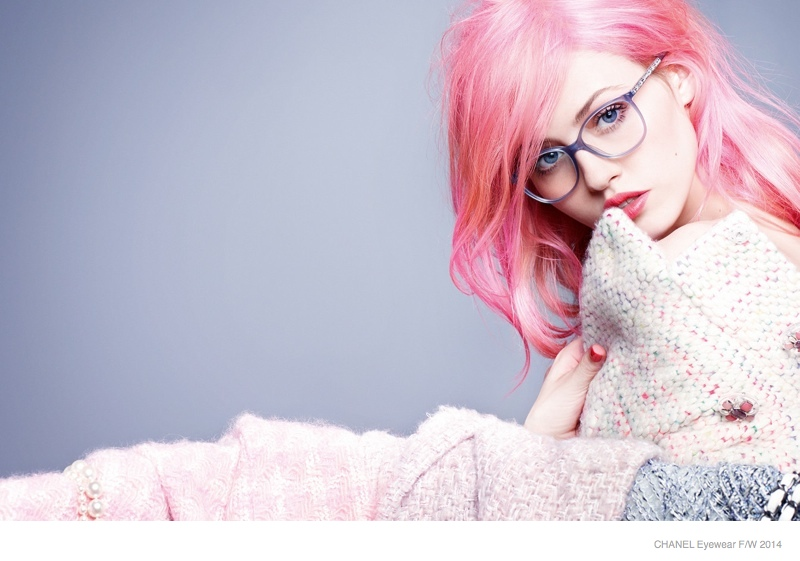 Pink Fall Wallpaper Hd Chanel Eyewear 2014 Fall Winter Ad Campaign Photos