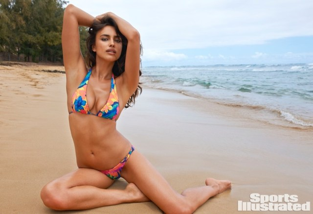 Irina Shayk in Sports Illustrated Swimsuit 2015  Issue
