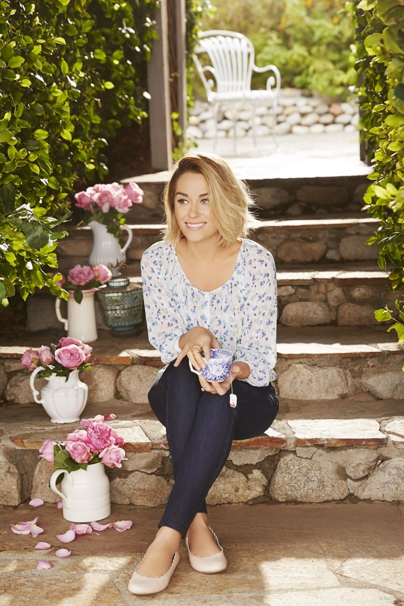 Lauren Conrad Fall Wallpaper Lauren Conrad Is Ready For Spring In Kohl S Style Update