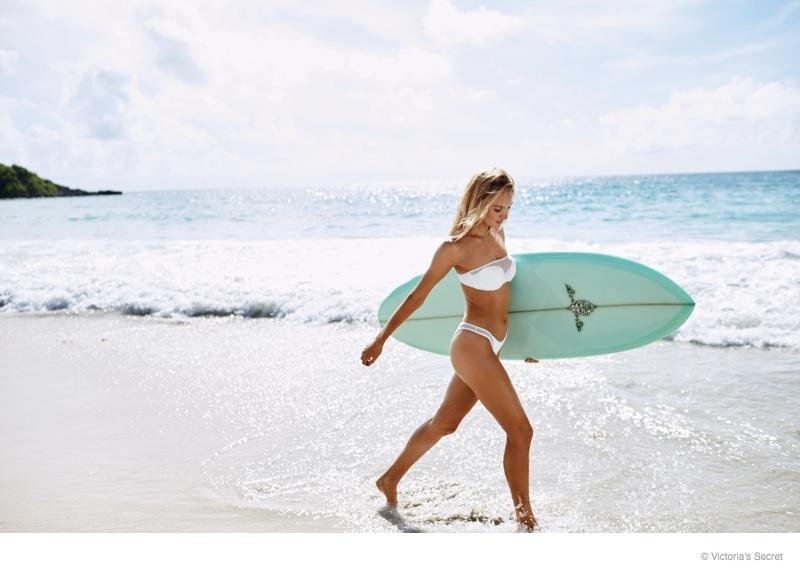 Surfer Girl Bali Wallpaper Candice Swanepoel Stars On Victoria S Secret Swim 3 Cover