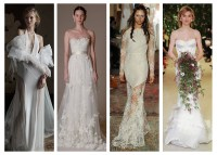 Bridal Spring 2016 Trends: 4 Trending Wedding Looks