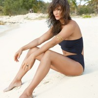 Helena Christensen Wears Sexy Swimsuit Styles for Madame Figaro