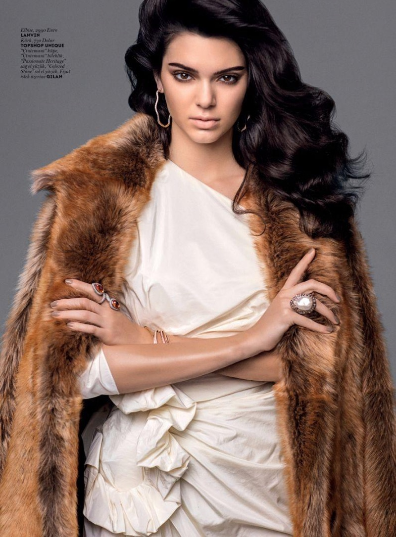 Fall Turkey Wallpaper Kendall Jenner Layers Up In Fall Fashions For Vogue Turkey