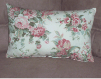 Floral Blossom Rectangle Throw Pillow | Fashion Home Products