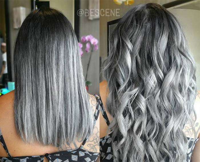 Cozy 85 Silver Hair Color Ideas And Tips For Dyeing - Castrophotos