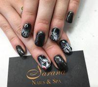 50 Awe-Inspiring Halloween Nail Art Designs   Fashionisers