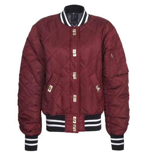 Rihanna for River Island bomber jacket