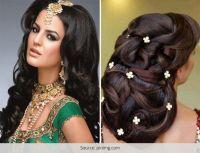 Wedding Hairstyles for Long Hair: Western & Indian Bridal ...