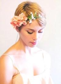 Wear A Pretty Bohemian Wedding Flower Crown At Your Wedding