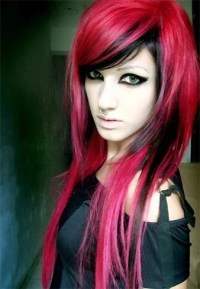 Red And Black Hairstyles - The Latest Color Trend That We ...