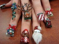51 Christmas Nail Art Ideas You Must Try