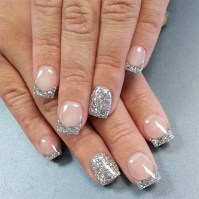 16 White Tip Nail Designs: Different French Manicure ...
