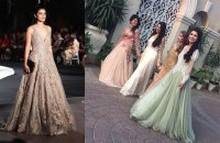 Wedding Reception Dresses For The Indian Christian Bride ...