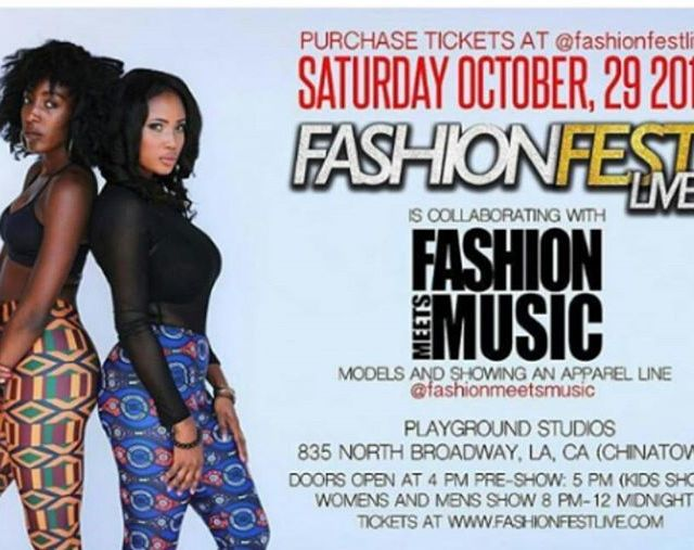 Excited to be collaborating with fashionfestlive on 29th October 2016hellip