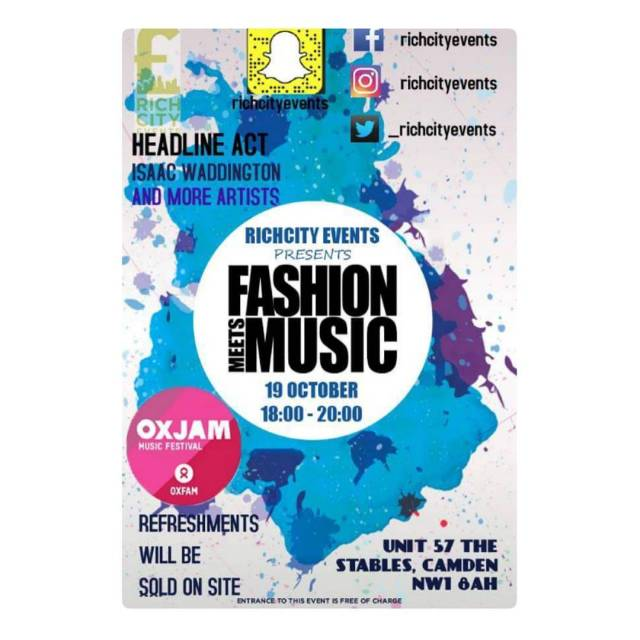 SAVE THE DATE  OXJAM Music Festival is Taking Overhellip
