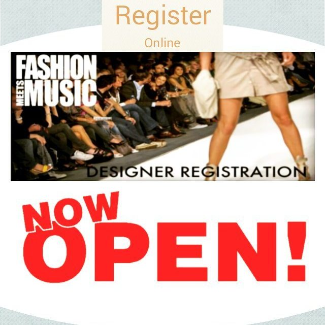 Designer Registration for LosAngeles 2017 Event Now Open Online wwwFashionMeetsMusiccomhellip