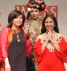 ashima leena Couture Week In Troubled Waters