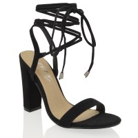 Black Tie Womens Shoes - Erieairfair