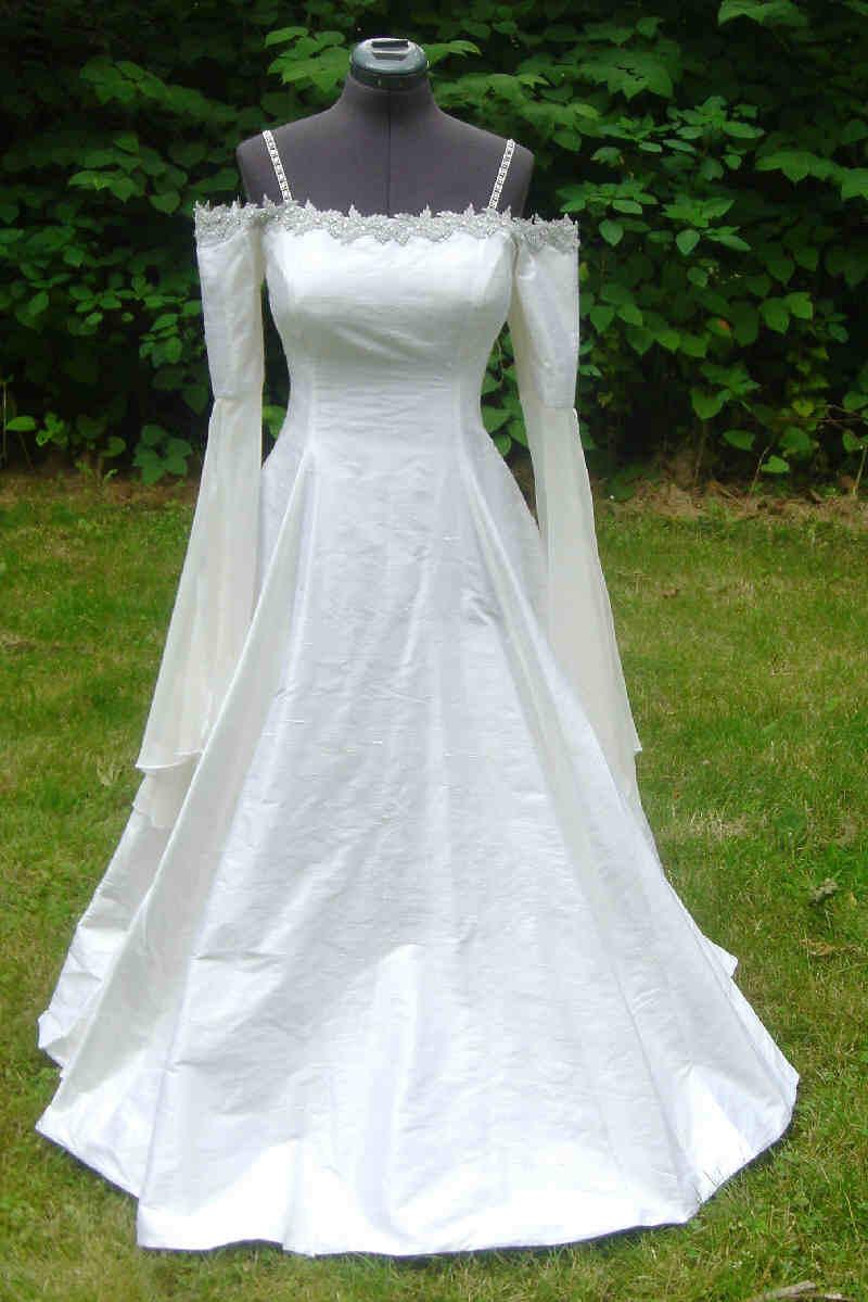elven wedding elvish wedding dress osc10